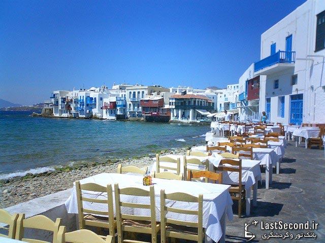 جزیره میکنوس (میکونوس) - یونان