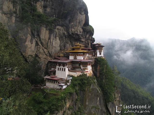 صومعهای در بوتان